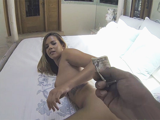 Sex for money with a young babe blonde with powerful hips full of cum