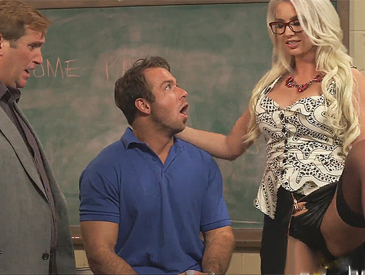 Sexual punishment of a hot teacher