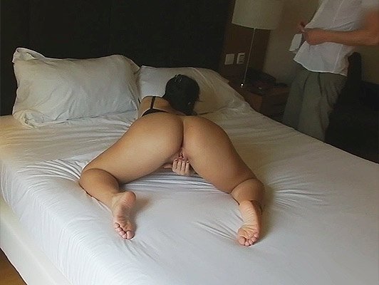 Porno domestic a girl with a mask, fucking in a hotel