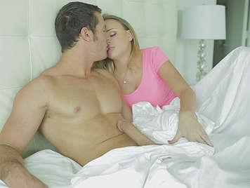 Couple fucking on awakening