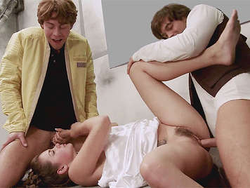 Star Wars porno con Luke Skywalker follando a la princesa Leia
