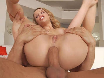 anal sex pure and simple with a blonde with a big ass