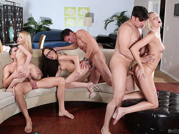 single men anal fucking orgy with the young daughters of their neighbors