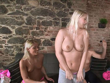 lesbian party of horny university czech