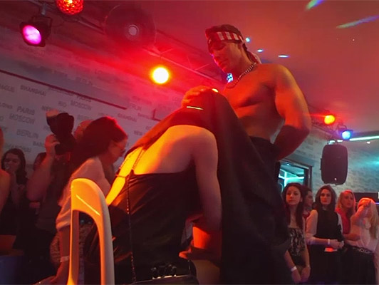 Bachelorette party ends in an orgy at the Disco