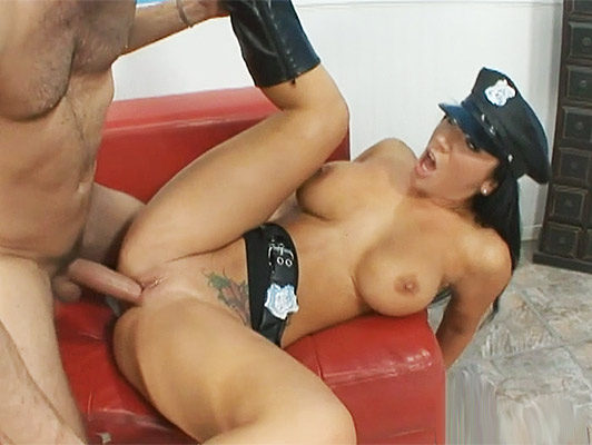 fucking with a police woman with big tits