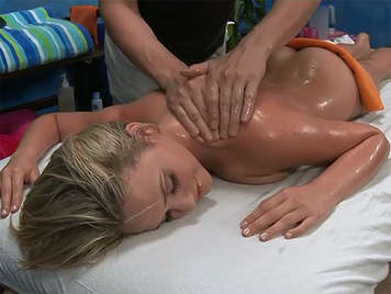 Massage with sexual penetration included, to a young client