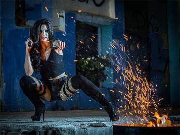 Parodia porno Resident Evil con Alexa Tomas