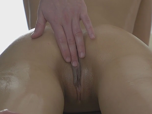 the time of the sensual massage with sex and happy ending