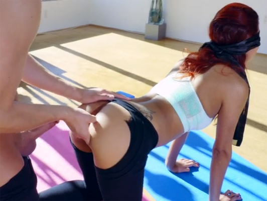 Sex during the aerobics session at the gym