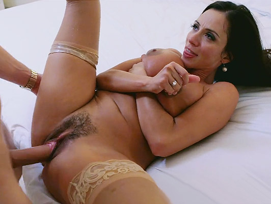 Latin Mature luxury bitch, With big tits and hairy pussy fucking like a bitch