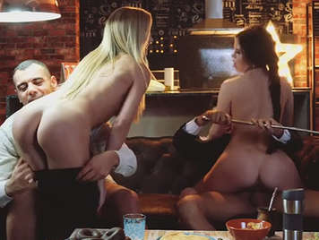Foursome features swinger and consolation fuck from Sicilia and Andy Stone with an innocent russian babe