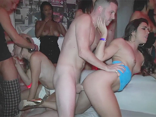 sex party with busty girls without panties fucking and sucking hungrily cocks and pussies