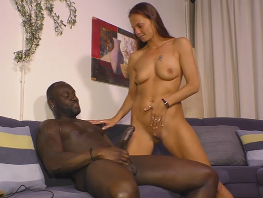 Homemade porn video of interracial couple