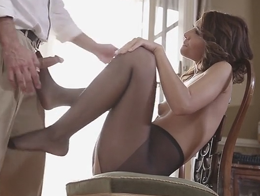 Hungarian Alexis Brill fucking in sexy lingerie