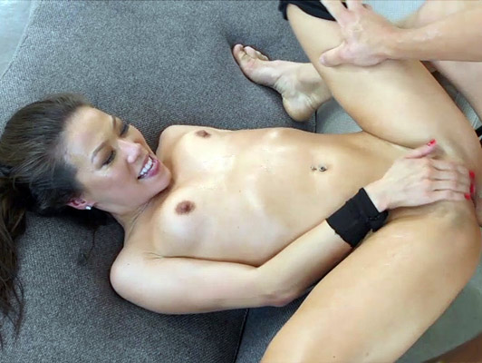 Mature asian bitch fucked brutally gulping a good hot cumshot