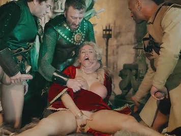 XXX porn parody with orgy.