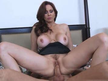 Seduced by the horny cougar Julia Ann