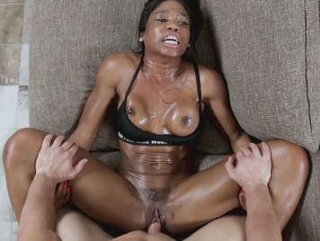 White black girl fucks