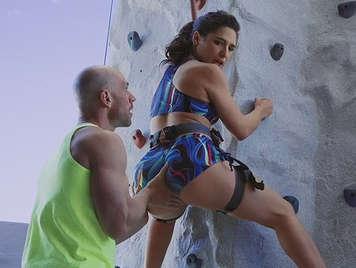 Climber fucking