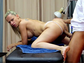 A deep spanish sexual therapy to a busty hot blonde
