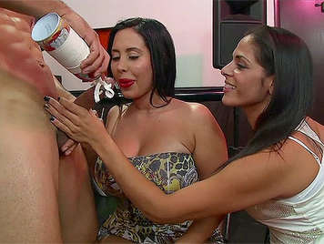 Bachelorette party with girls hungry for cock