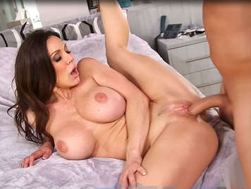 Fucking with a beautiful mature housewife with big and perfect tits