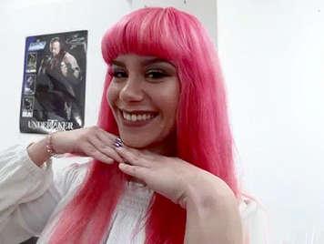 Spanish Porn, Jordi Polla El Niño fucks sexy makeup artist Pink Charlotte