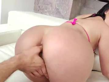 Kristina Rose addicted to hard and deep anal sex