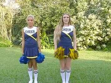 Lesbian cheerleaders