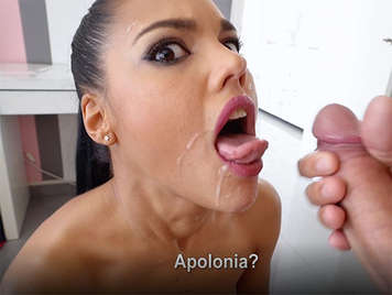 Spanish porn Apolonia La Piedra well fucked receives facial cumshot