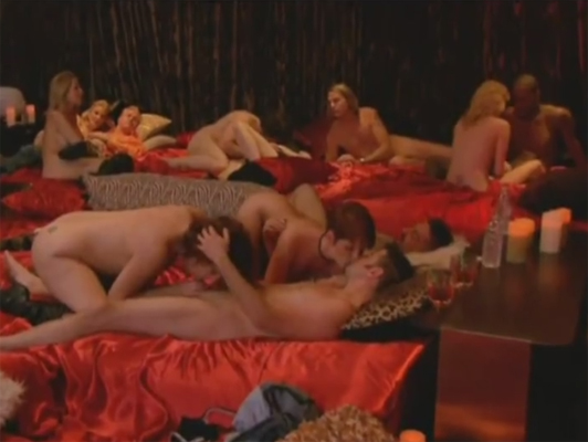 Massive swinger orgy
