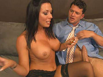 Rachel Starr is perfect secretary
