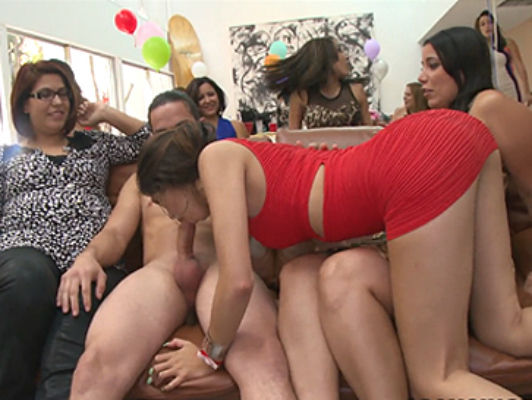 The bachelorette party of Ava Taylor