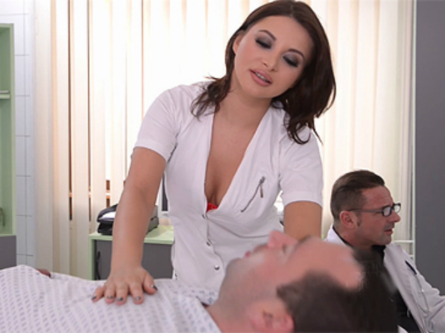 Anna Polina be your porn nurse