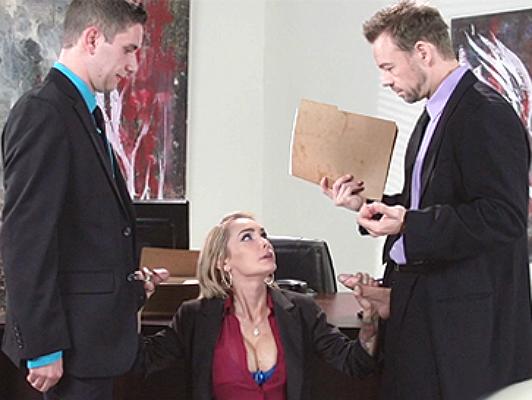 The Devon secretary, attentive and obedient