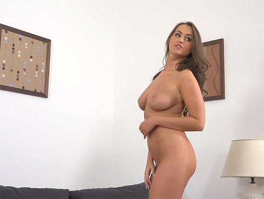 Fake casting to busty russian girl