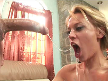 amazing sloppy blowjob with deep throat and facefucking
