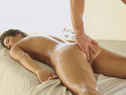 Body on body sensual massage