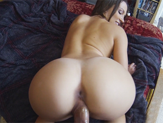 My ex-girlfriend with big round ass liked to record having sex