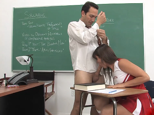 cheerleader fucking with her teacher