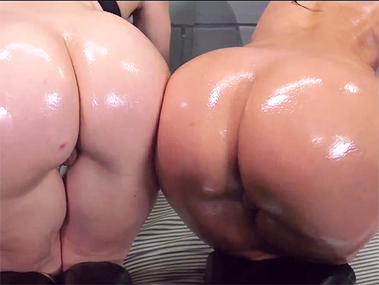 fucking the big asses of two horny cops