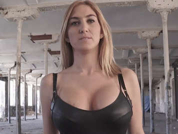 spanish milf fucked in an abandoned house