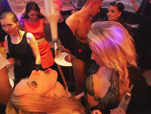 A wild wild sex party with amounts of hot girls and horny