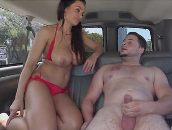 Sex in the van with the spectacular Lisa Ann