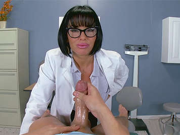 The Ms. Busty Doctor, is very kinky she when watching a hard cock,need sucking it, to empty her balls of milk