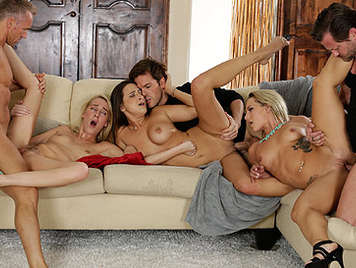 Bitches cant Free swinger gangbang videos the luckiest