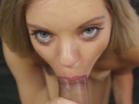 porn casting a blonde with blue eyes