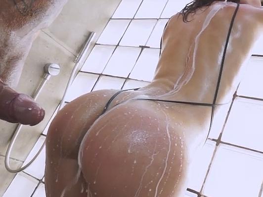Nacho Vidal and Julia Roca, super fucking on the shower
