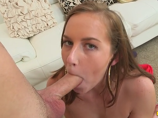 Blowjob from a rookie of 18 years